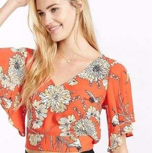 *NWT Express Floral Top